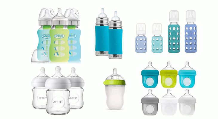 Favorite Alternatives to Plastic Baby Bottles