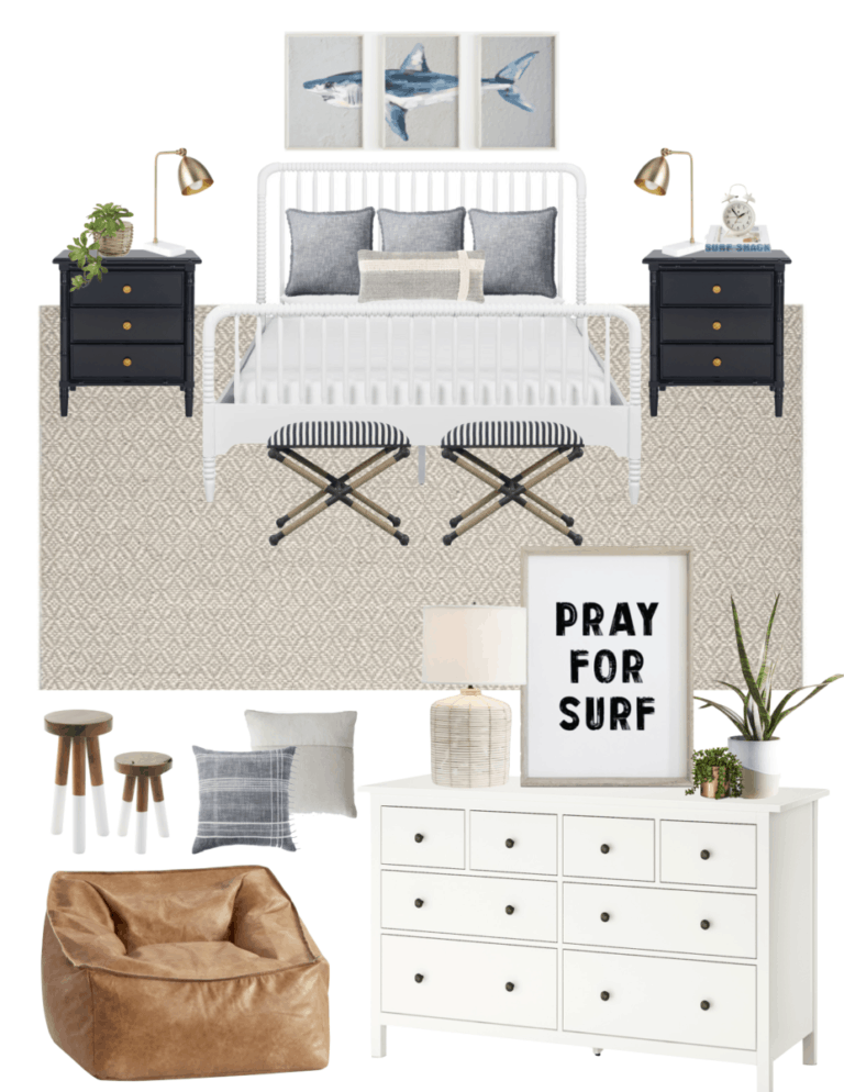 Boys' Coastal Bedroom Decor