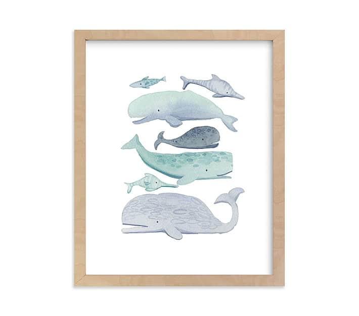 Coastal Kids Art Prints