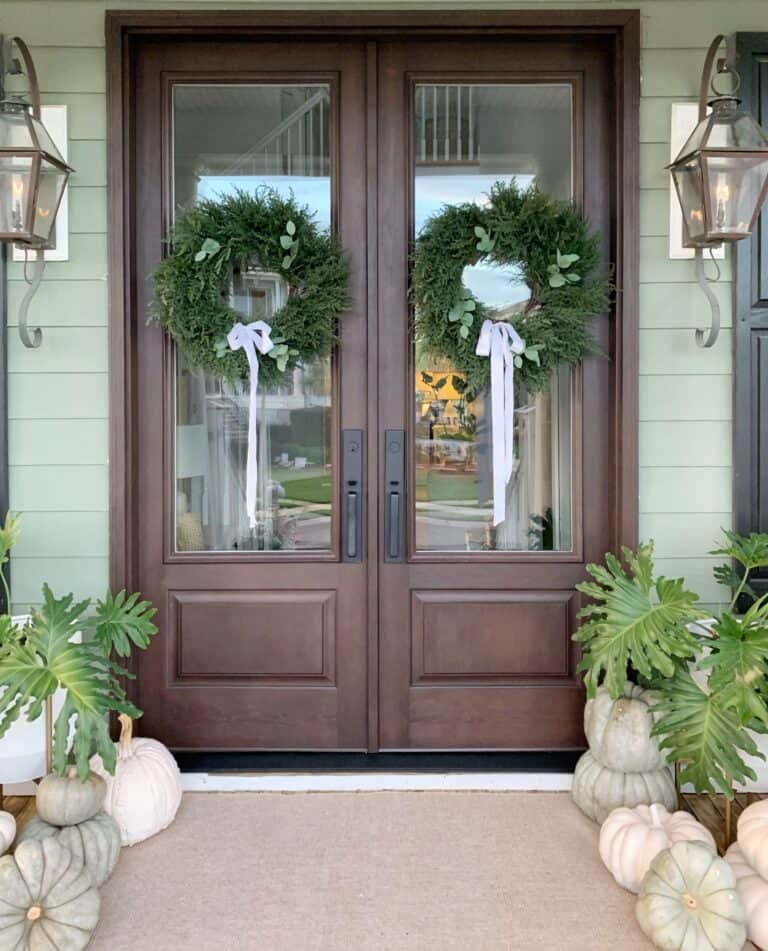 Our New Front Doors