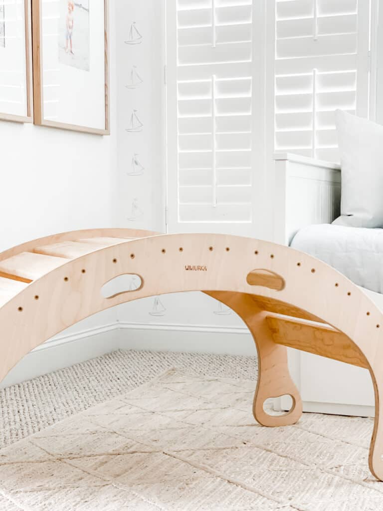 Our Rocker Balance Board and Why it's Our Favorite Toy